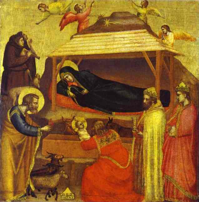 The Epiphany 1320 | Giotto | Oil Painting