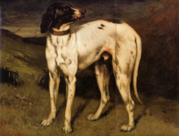 A Dog from Ornans 1856 | Gustave Courbet | Oil Painting