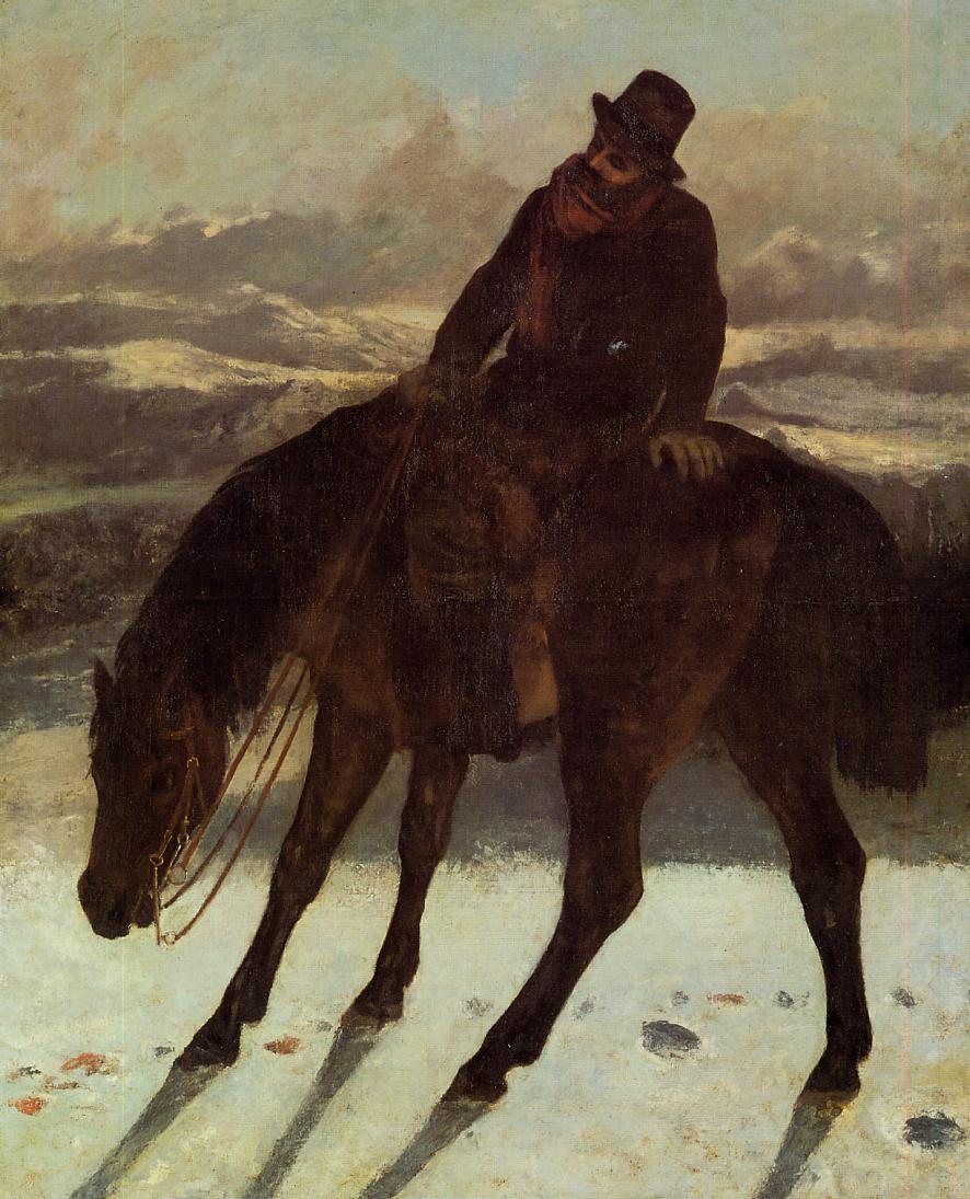 Hunter on Horseback, Redcovering the Trail 1864