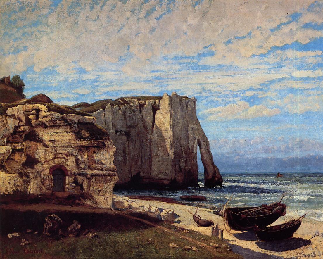 Decoration oil painting CLIFF WALK AT POURVILLE Claude Monet ...
