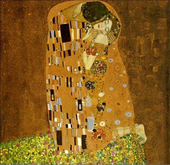 The Kiss 1907-08   Gustav Klimt   Oil Painting