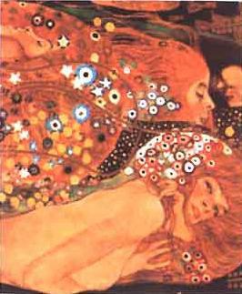 Acqua Mossa | Gustav Klimt | Oil Painting