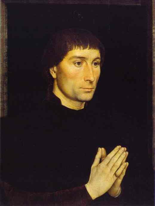 Tommaso Portinari And His Wife Part Of Diptych 1 1470 | Hans Memling | Oil Painting