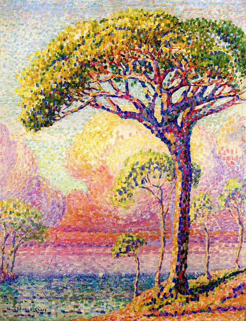 A Pine Tree 1905 | Henri Edmond Cross | Oil Painting