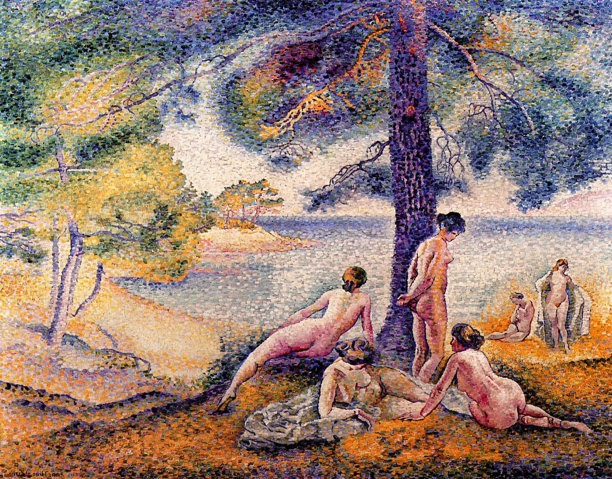 A Place in the Shade 1902 | Henri Edmond Cross | Oil Painting