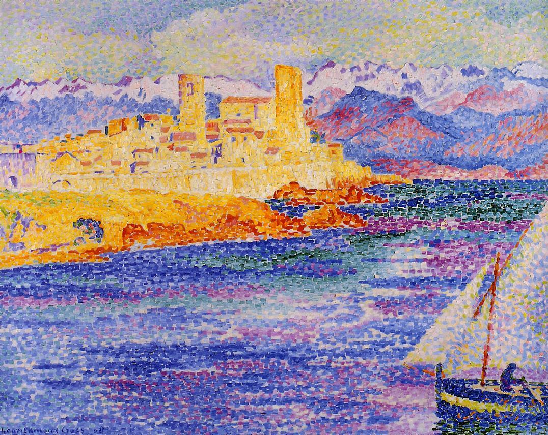 Antibes 1908 | Henri Edmond Cross | Oil Painting