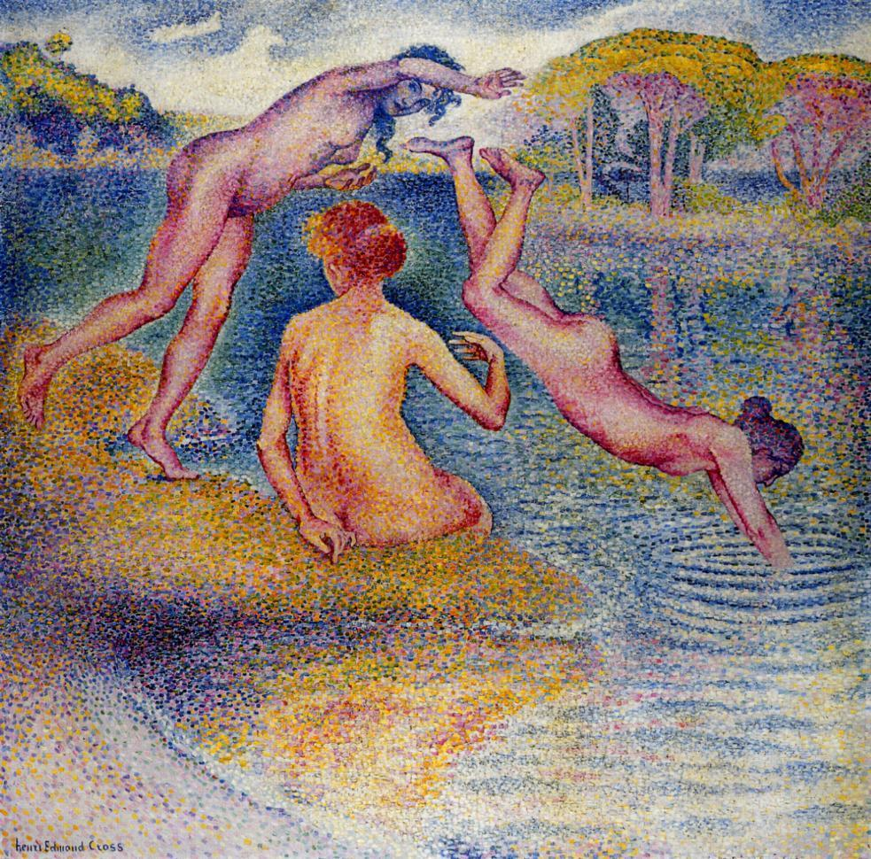 Bathers 1899 1902 | Henri Edmond Cross | Oil Painting