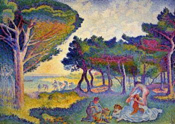 By the Mediterranean 1895 | Henri Edmond Cross | Oil Painting