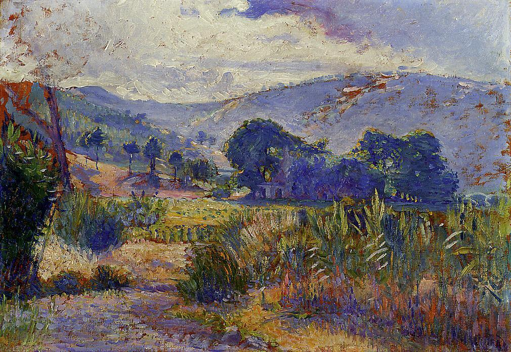 Cabasson Landscape (study) 1896 1899 | Henri Edmond Cross | Oil Painting