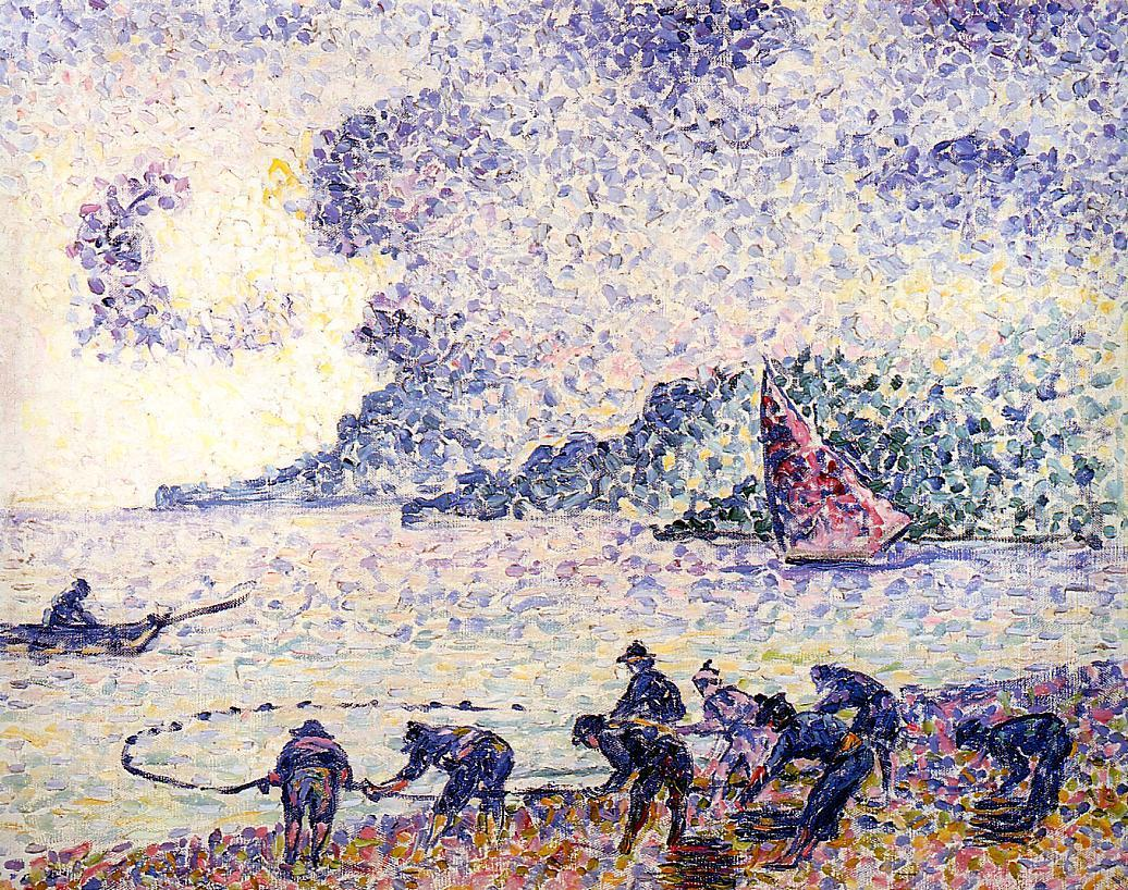 Fisherman 1895 | Henri Edmond Cross | Oil Painting
