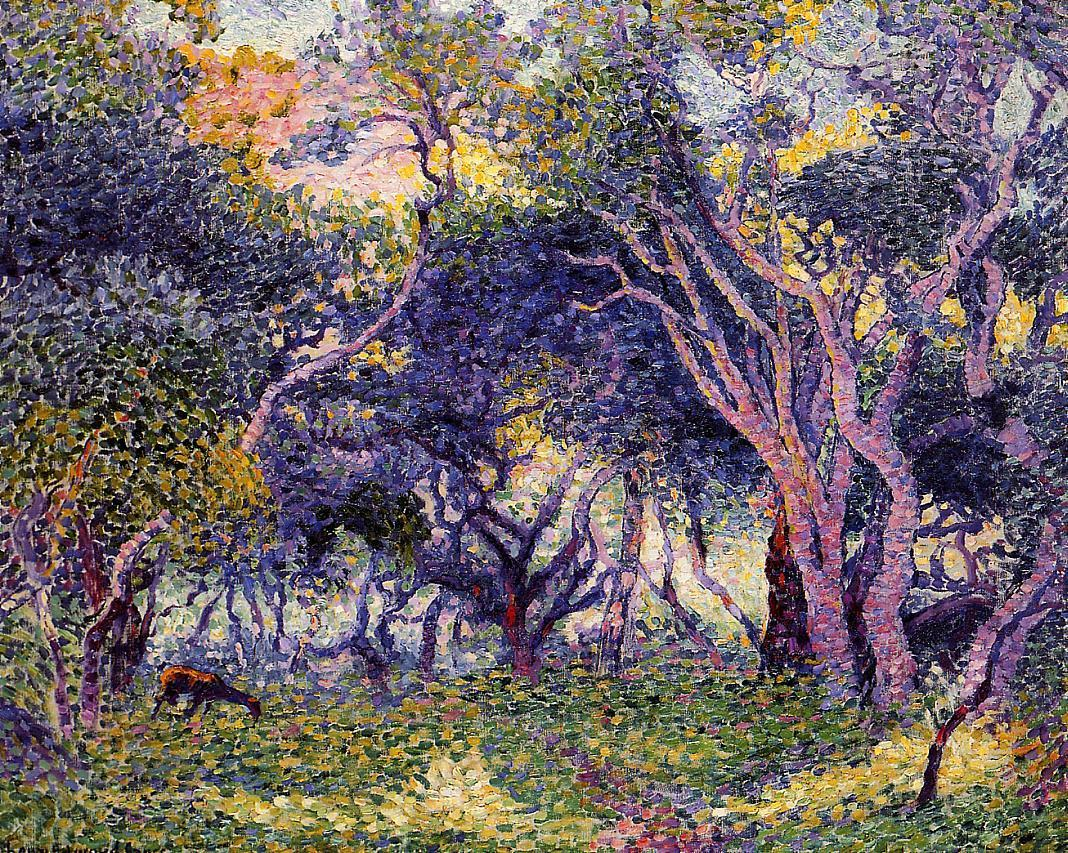 In the Woods 1906 1907 | Henri Edmond Cross | Oil Painting