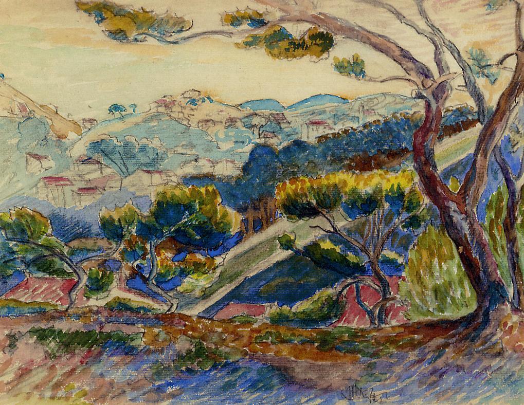 Landscape 1909 | Henri Edmond Cross | Oil Painting