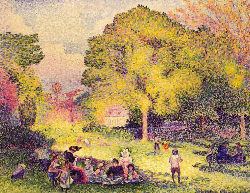 Le Ranelagh 1899   Henri Edmond Cross   Oil Painting