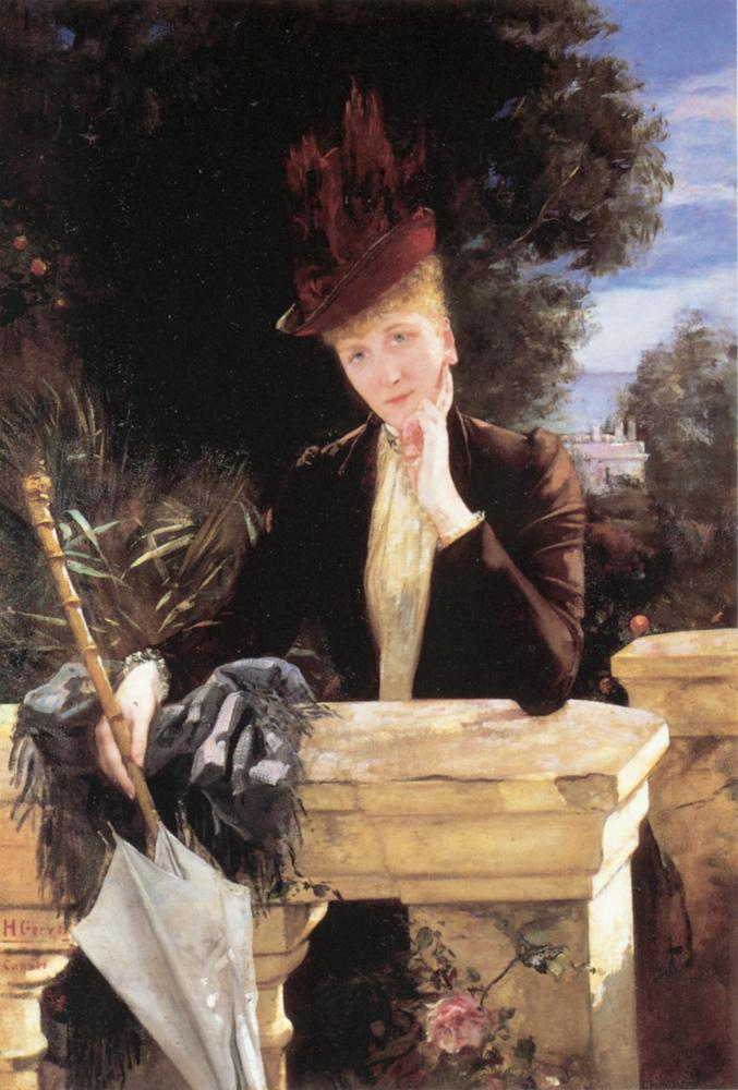 A Portrait of Marie Clotilde de Fare | Henri Gervex | Oil Painting