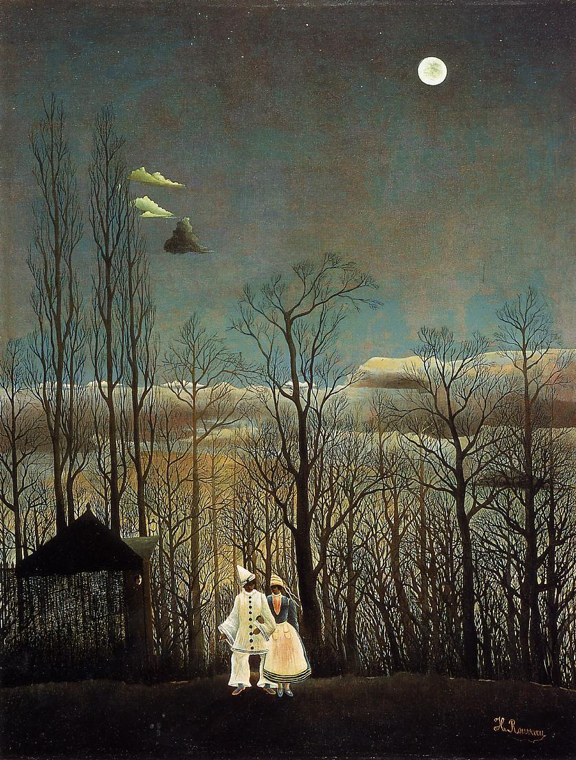 A Carnival Evening 1885 1886 | Henri Rousseau | Oil Painting