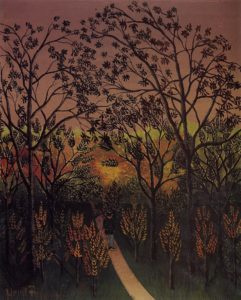 A Corner of the Plateau of Bellevue 1901-1902 | Henri Rousseau | Oil Painting