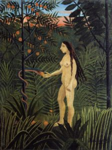 Eve and the Serpent 1904-1905 | Henri Rousseau | Oil Painting