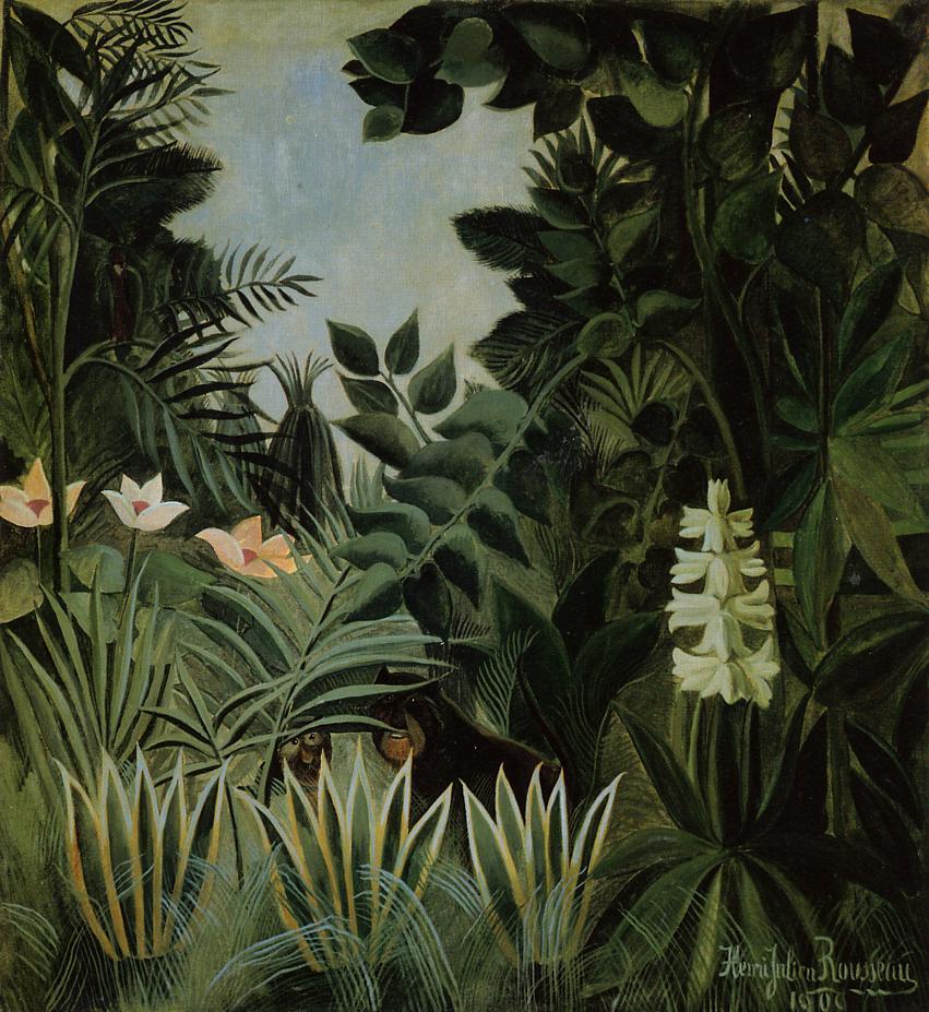 Exotic Landscape 1909 | Henri Rousseau | Oil Painting