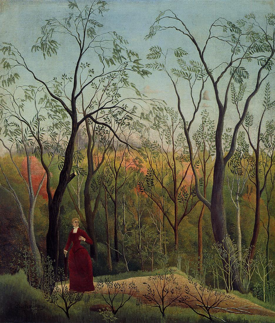 Forest Promenade 1886 | Henri Rousseau | Oil Painting