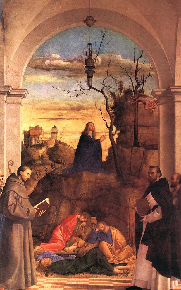 Christ Praying in the Garden 1516 | Marco Basaiti | Oil Painting