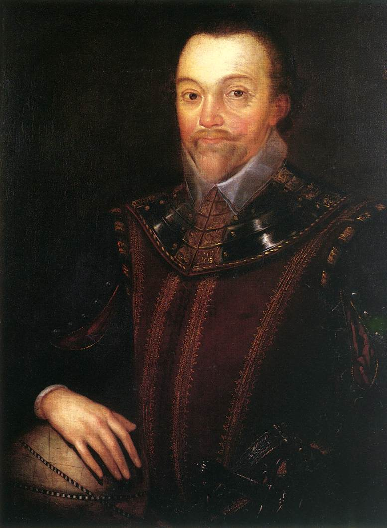 Sir Francis Drake After 1590   Marcus The Younger Gheeraerts   Oil Painting
