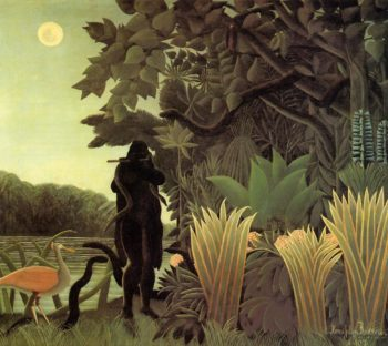 The Snake Charmer 1907 | Henri Rousseau | Oil Painting