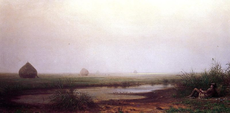 Marsh with a Hunter 1874 | Martin Johnson Heade | Oil Painting