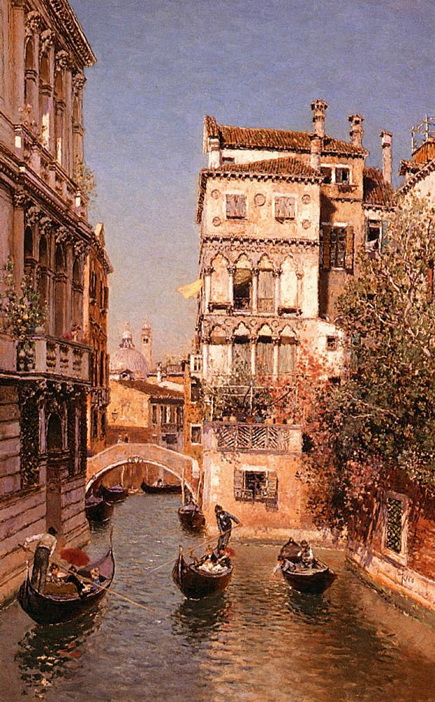 Along the Canal Venice