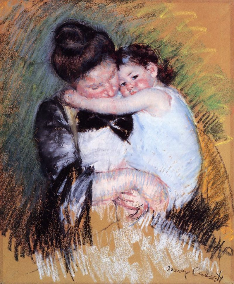 Mother and Child 1900 | Mary Cassatt | Oil Painting