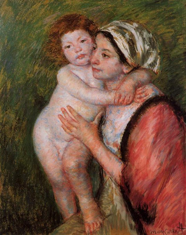 Mother and Child 1914 | Mary Cassatt | Oil Painting