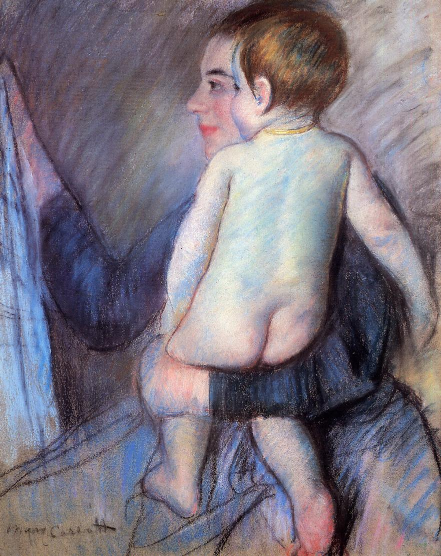 At the Window 1889 | Mary Cassatt | Oil Painting