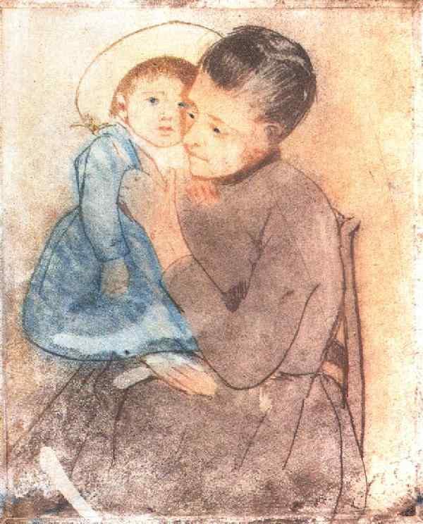 Baby Bill 1890 | Mary Cassatt | Oil Painting