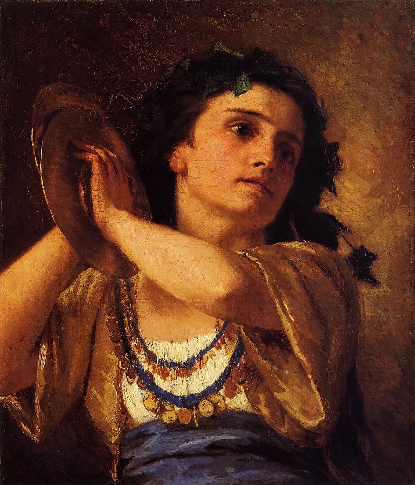 Bacchante 1872 | Mary Cassatt | Oil Painting
