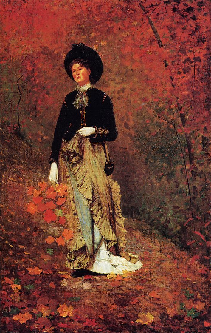 Autumn 1877 | Homer Winslow | Oil Painting