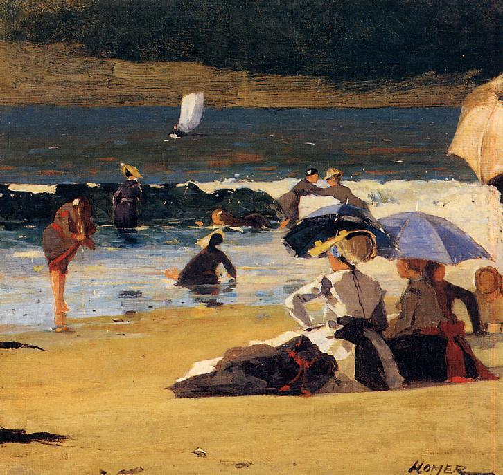 By the Shore 1870 | Homer Winslow | Oil Painting