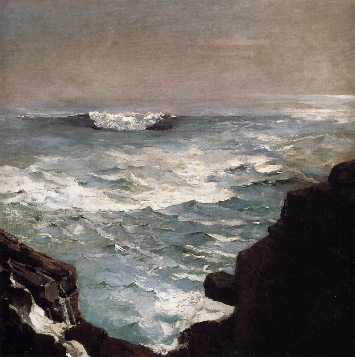 Cannon Rock 1895 | Homer Winslow | Oil Painting