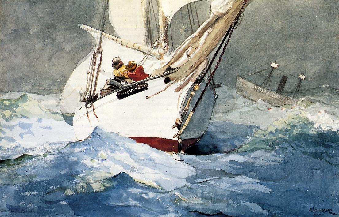 Diamond Shoal 1905 | Homer Winslow | Oil Painting