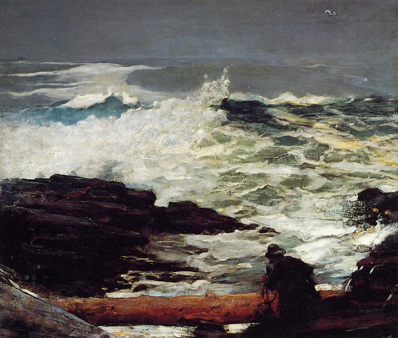 Driftwood 1909 | Homer Winslow | Oil Painting