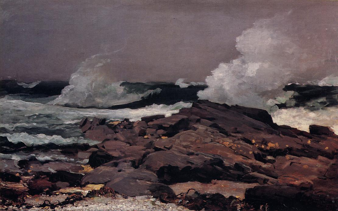 Eastern Point Prout Neck 1900 | Homer Winslow | Oil Painting