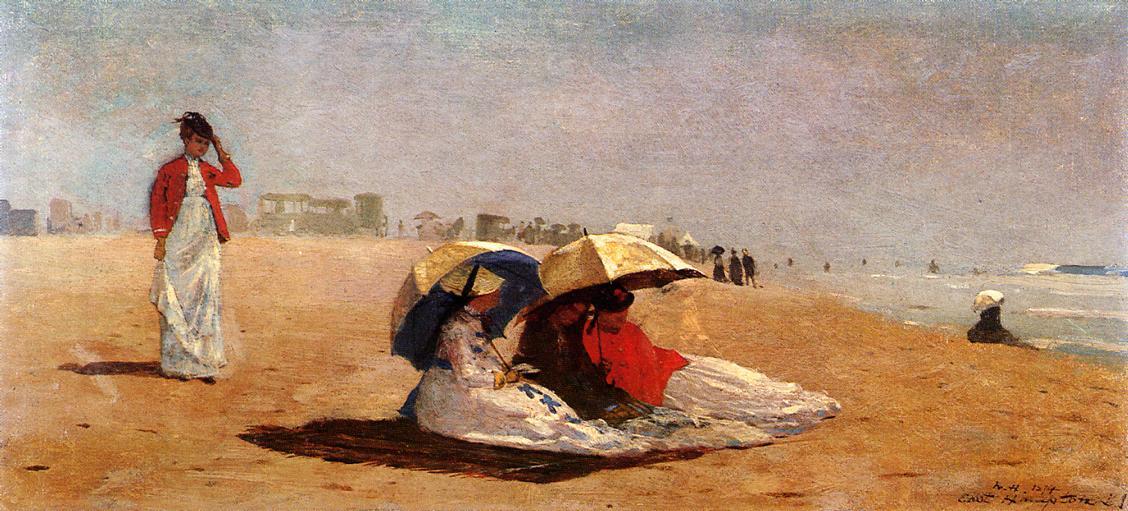 East Hampton Long Island 1874 | Homer Winslow | Oil Painting