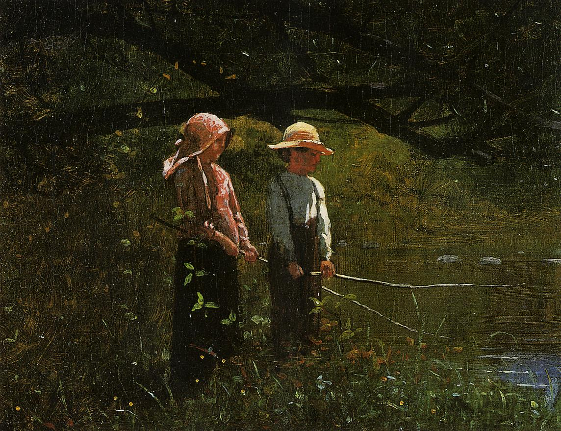 Fishing 1879 | Homer Winslow | Oil Painting
