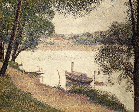 Gray Weather Grande Jatte ca. 1888 | Georges Pierre Seurat | Oil Painting