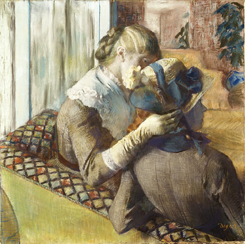 At the Milliner's 1881 | Edgar Degas | Oil Painting