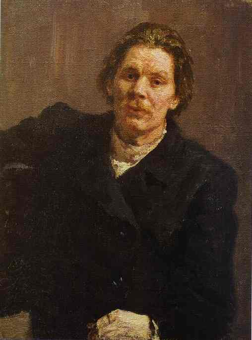 Portrait Of Maxim Gorky 1898 | Ilya Repin | Oil Painting