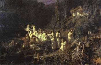 Mermaids   Ivan Nikolaevich Kramskoy   Oil Painting