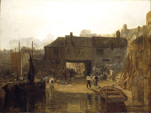 Saltash with the Water Ferry 1811 | Joseph Mallord William Turner | Oil Painting