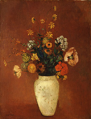 Bouquet in a Chinese Vase | Odilon Redon | Oil Painting