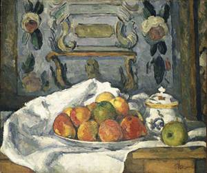Dish of Apples | Paul Cezanne | Oil Painting