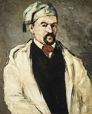 Dominique Aubert the Artist's Uncle 1866 | Paul Cezanne | Oil Painting