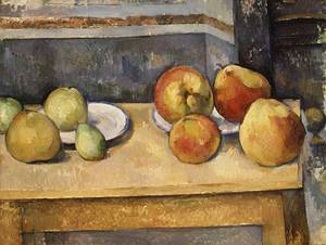 Still Life with Apples and Pears | Paul Cezanne | Oil Painting
